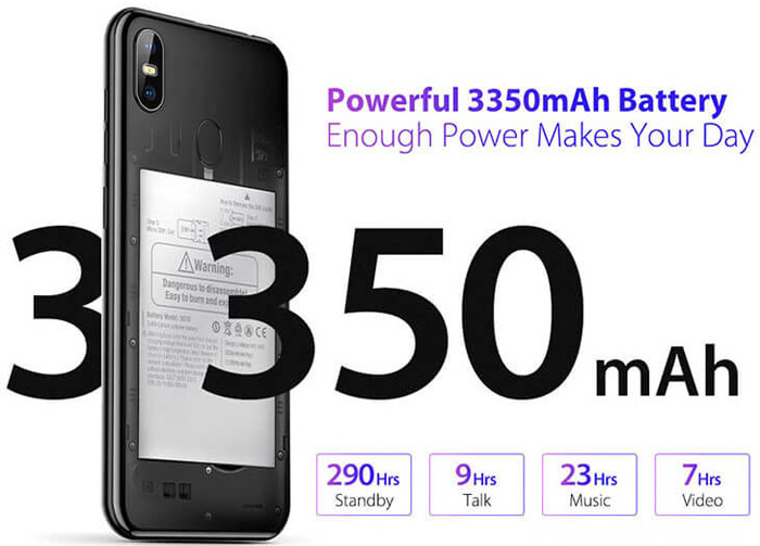 X one Phone battery