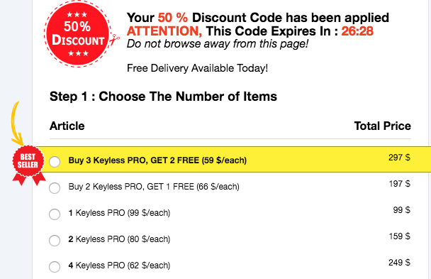 order keylesspro