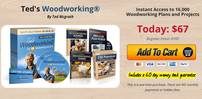 order tedwood working